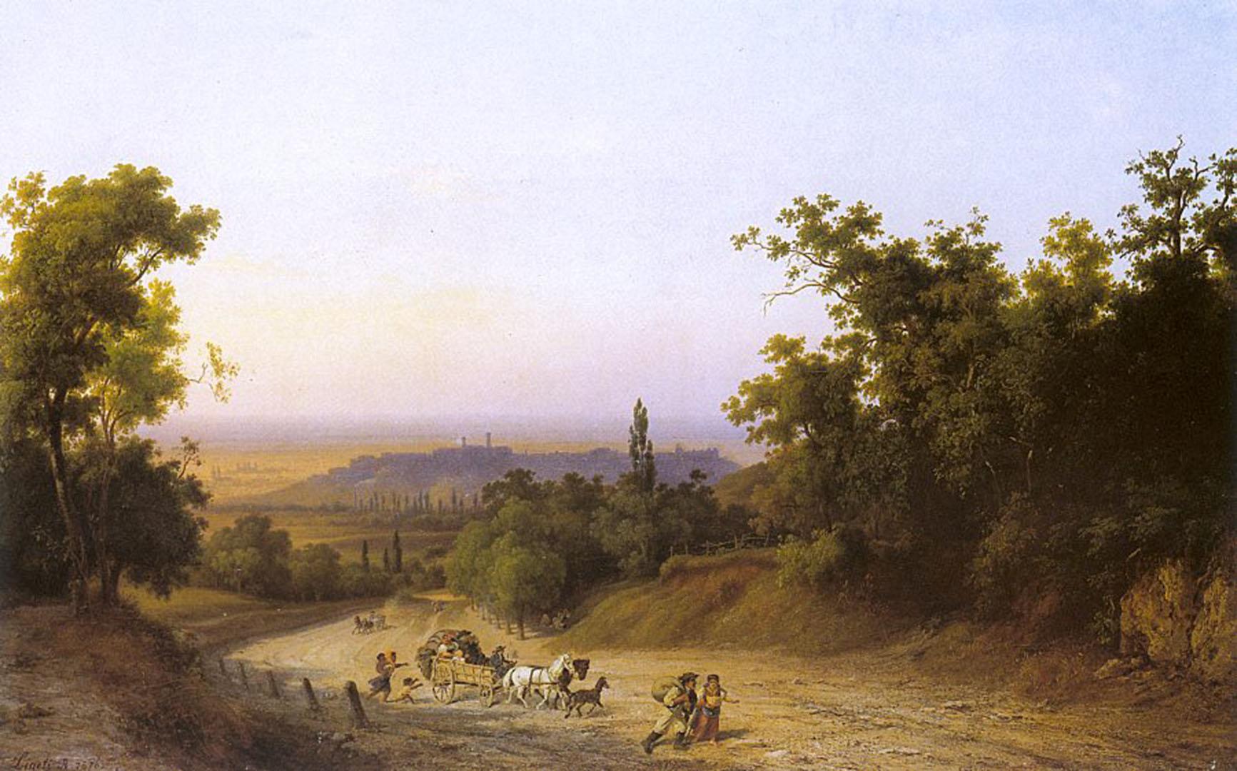 Martonhegy Road