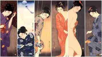 posing geisha girls collection 2