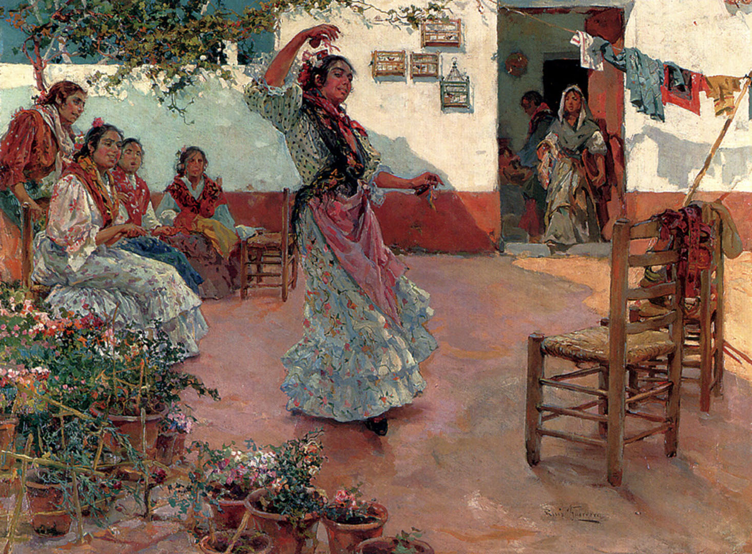 The Flamenco Dance