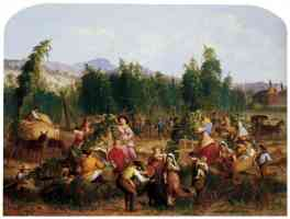 hop picking 1862