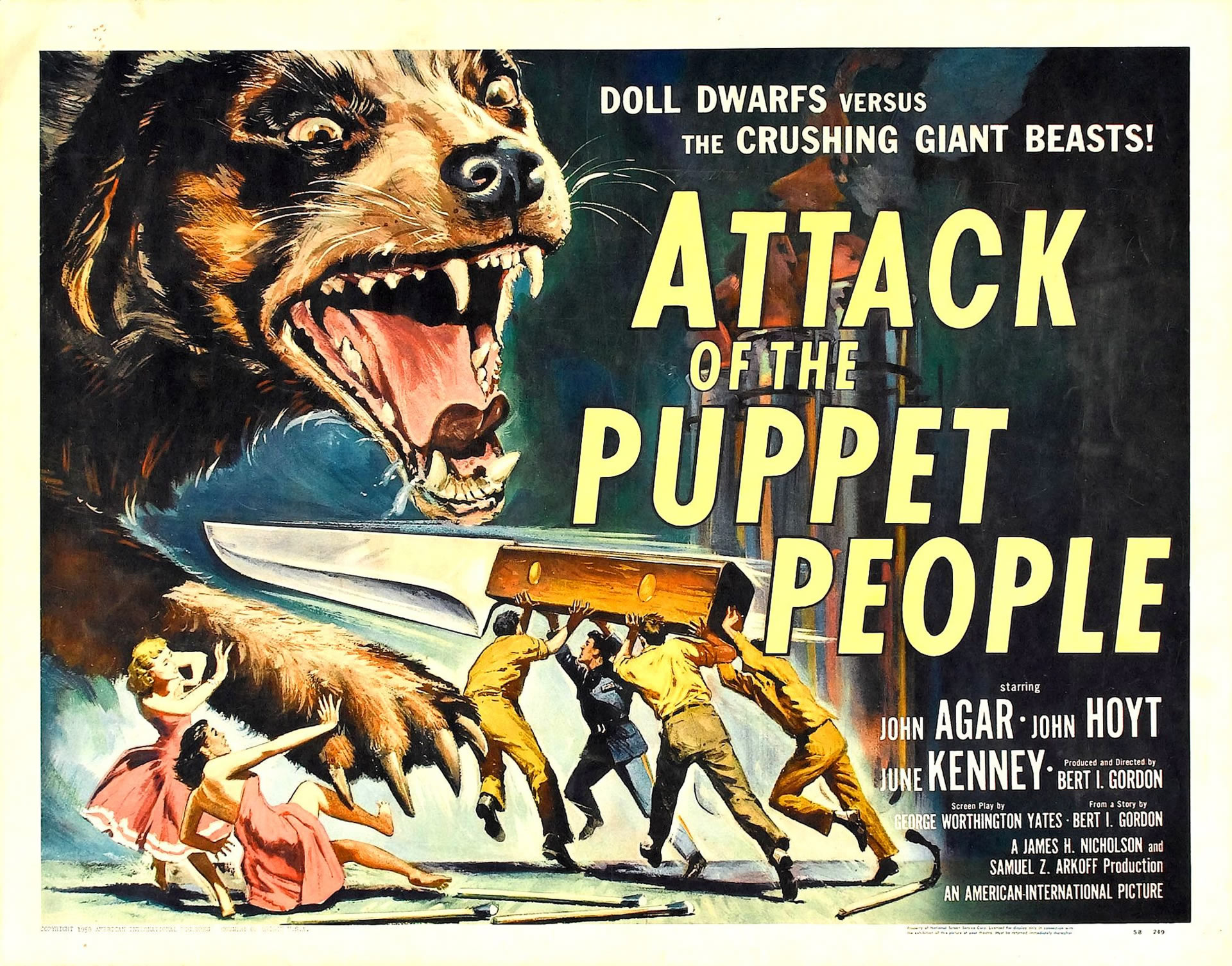 attack of the puppet people 1950s b movie posters