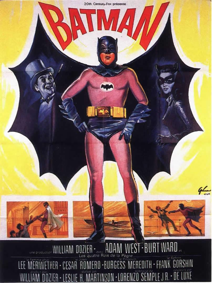 BATMAN 2 - 1960s B Movie Posters