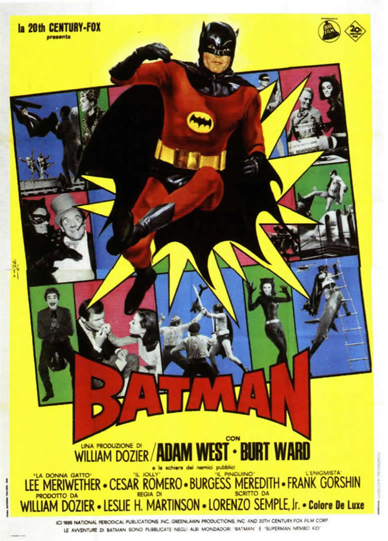 BATMAN 3 - 1960s B Movie Posters
