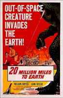 20 MILLION MILES TO EARTH