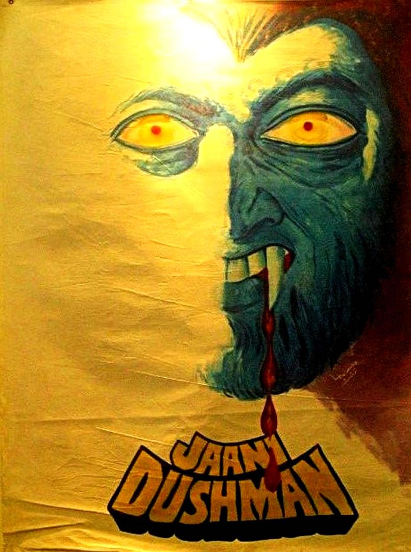 jaani dushman l bollywood horror b movie posters