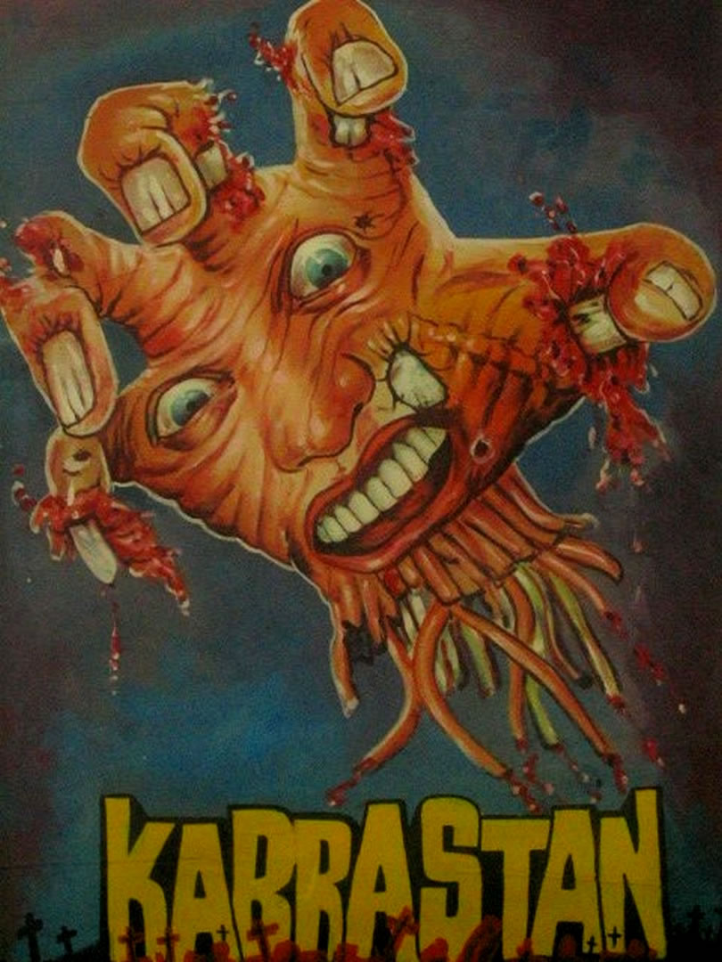 kabrastan c bollywood horror b movie posters