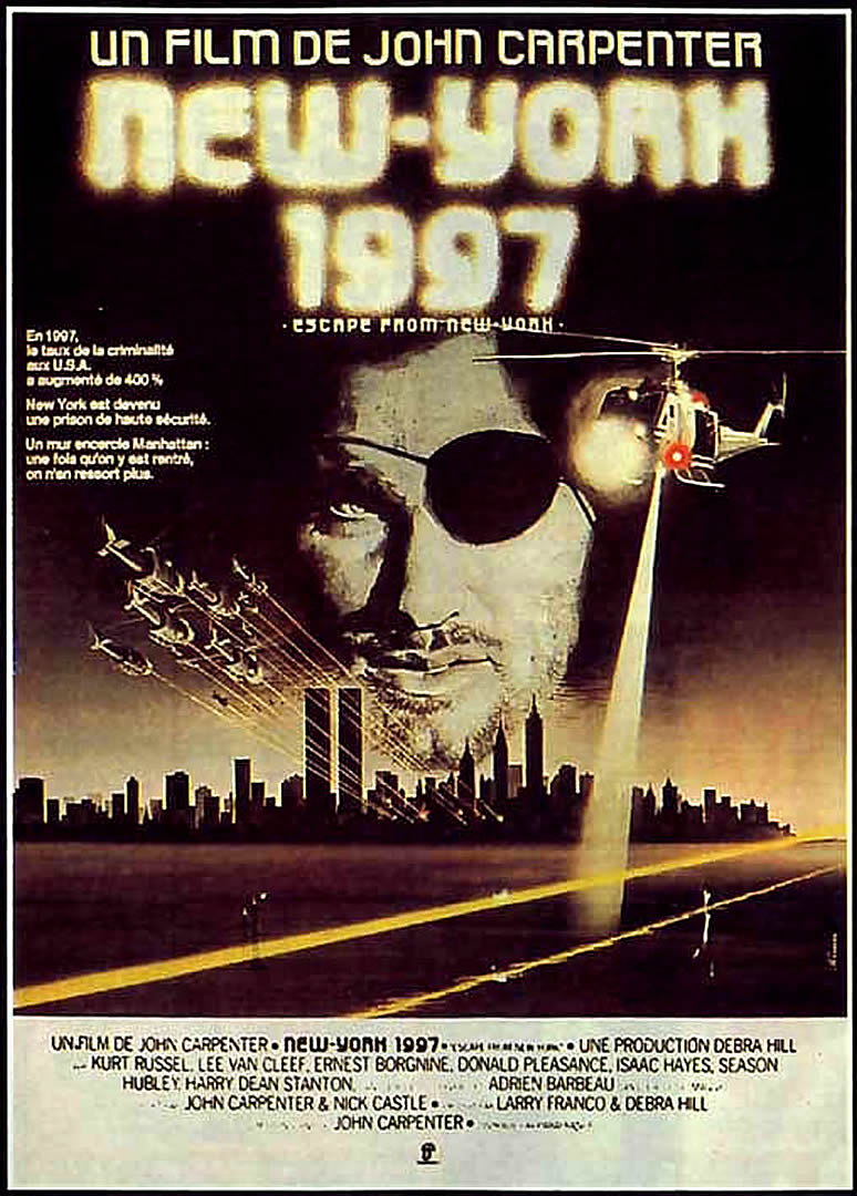 Escape From New York Poster.Escape From New York French B Movie Posters