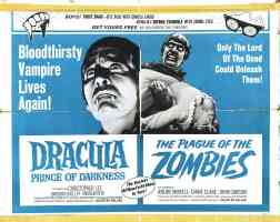 dracula prince of darkness and plague of zombies double bill