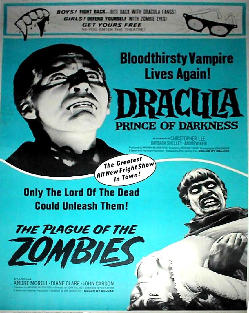 The Plague Of The Zombies And Dracula Prince Of Darkness
