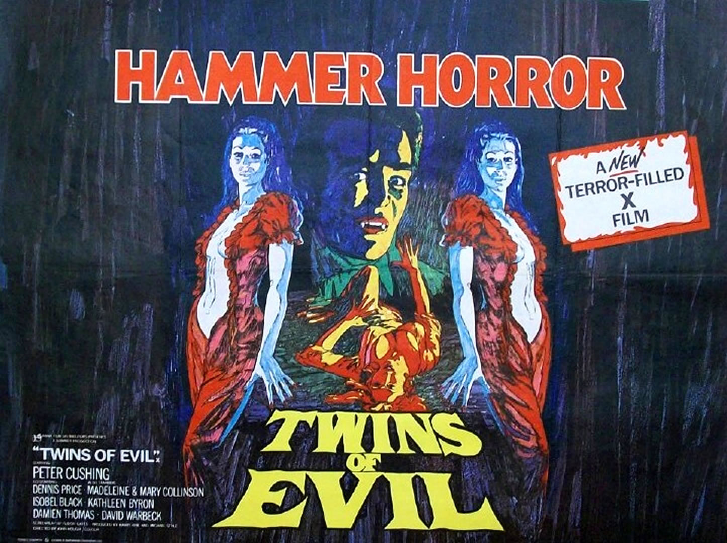 Are hammer horror films of movies abstract thinking