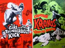 CAPTAIN KRONOS VAMPIRE HUNTER THE GIRL WITH THE THUNDERBOLT KICK