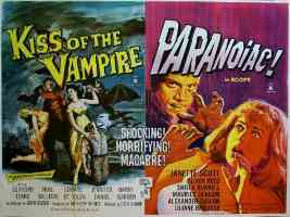 KISS OF THE VAMPIRE and PARANOIAC double bill