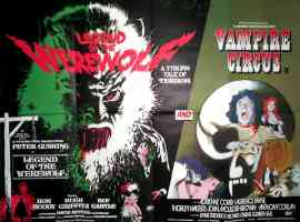 LEGEND OF THE WEREWOLF and VAMPIRE CIRCUS double bill