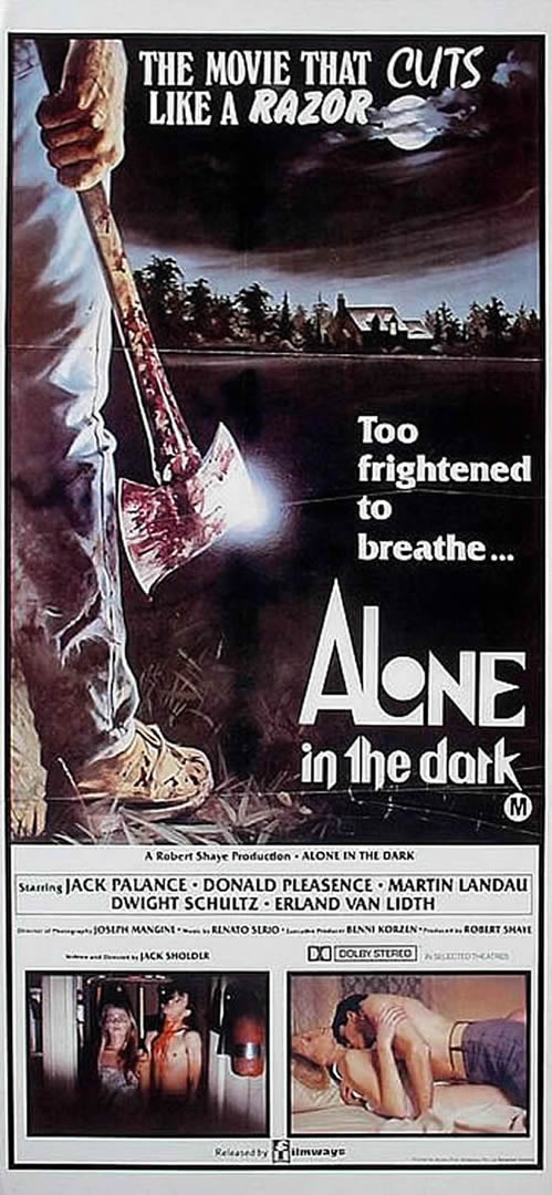 Alone In The Dark 2 Horror B Movie Posters