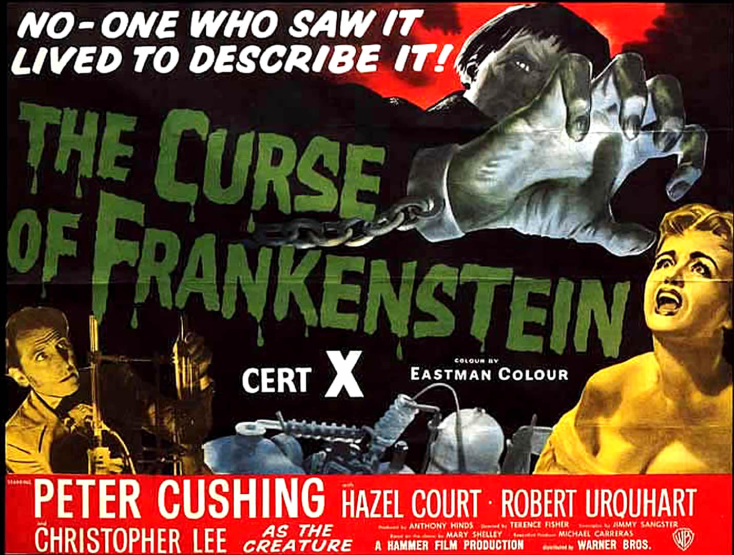 THE CURSE OF FRANKENSTEIN 4