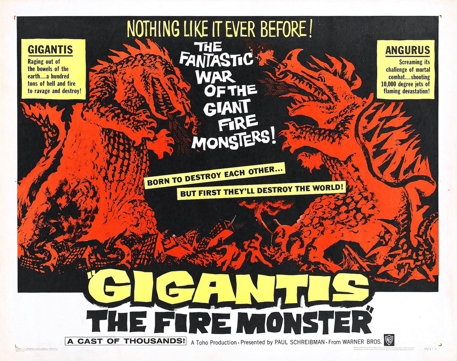 Gigantis The Fire Monster