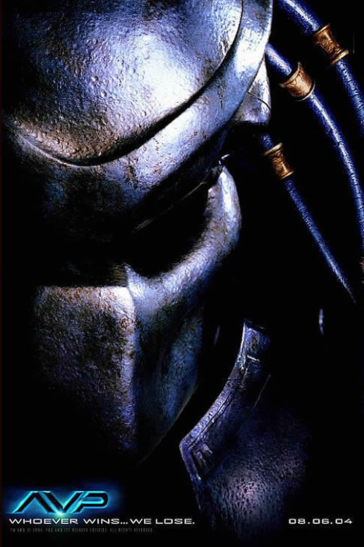 ALIEN VS PREDATOR TEASER 2 - Sci Fi B Movie Posters