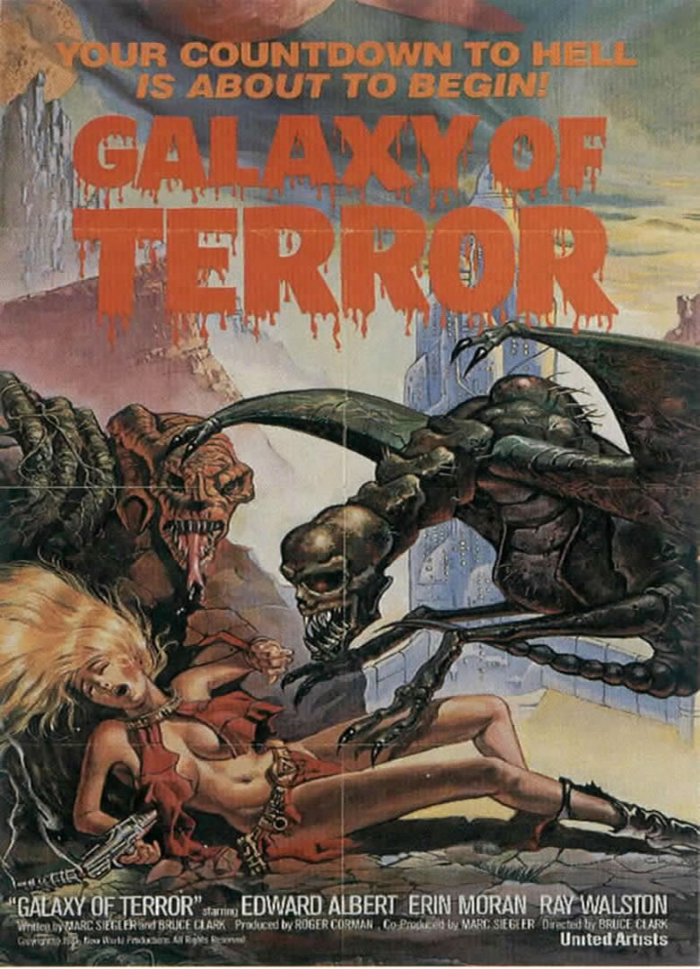 GALAXY OF TERROR - sci fi b mov...