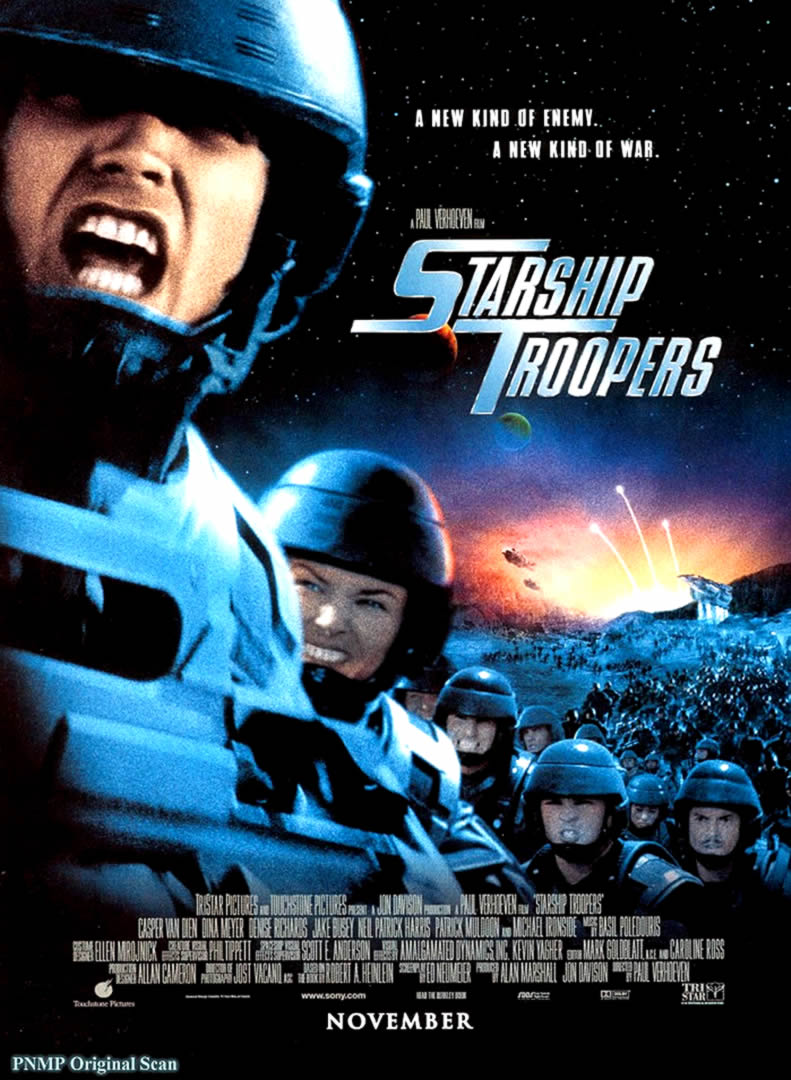 STARSHIP TROOPERS 2 - Sci Fi B Movie Posters