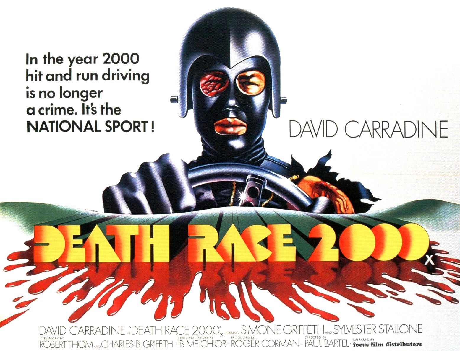 death race 2000 ii - sci fi b movie posters