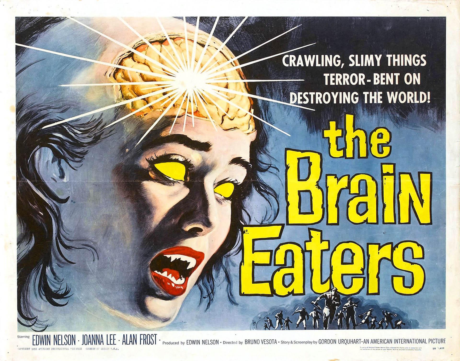 Sci Fi Brain : The brain eaters sci fi b movie posters