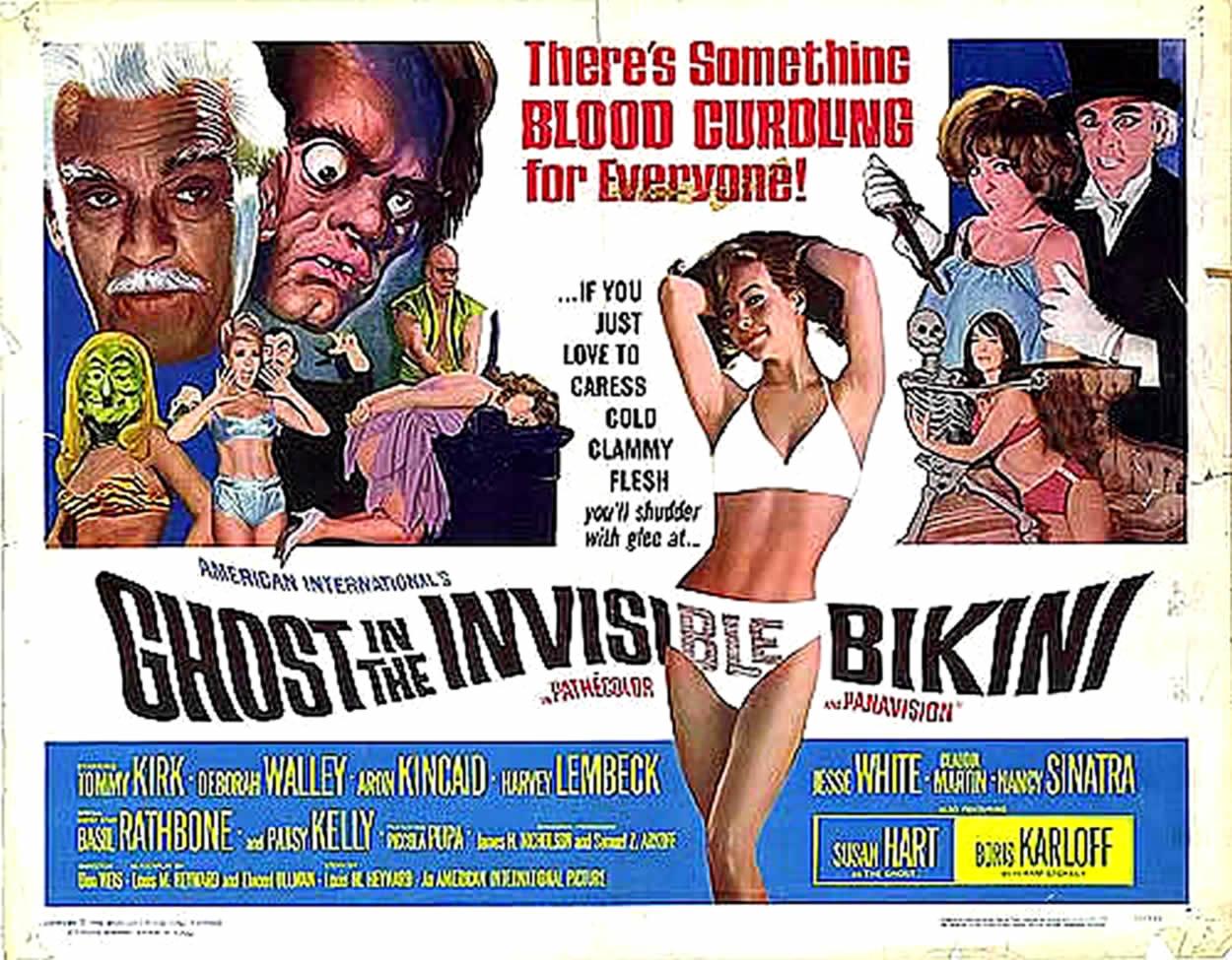Ghost in a teeny bikini xxx