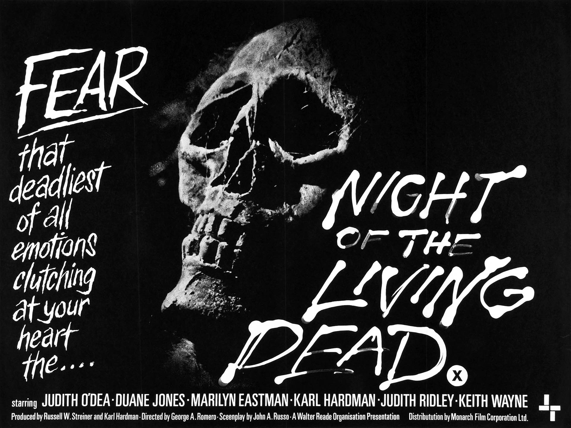 night of the living dead film The movie of the week for july 23 through 29 is night of the living dead (1968),  which is available to stream on amazon prime or digitally rent.