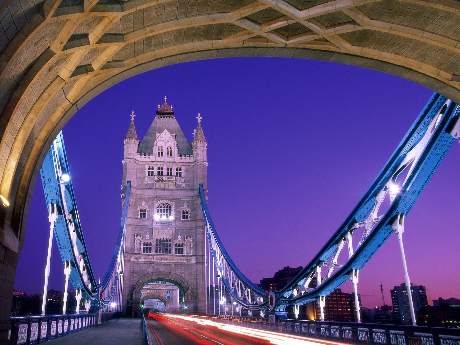 Crossing Over Tower Bridge London England