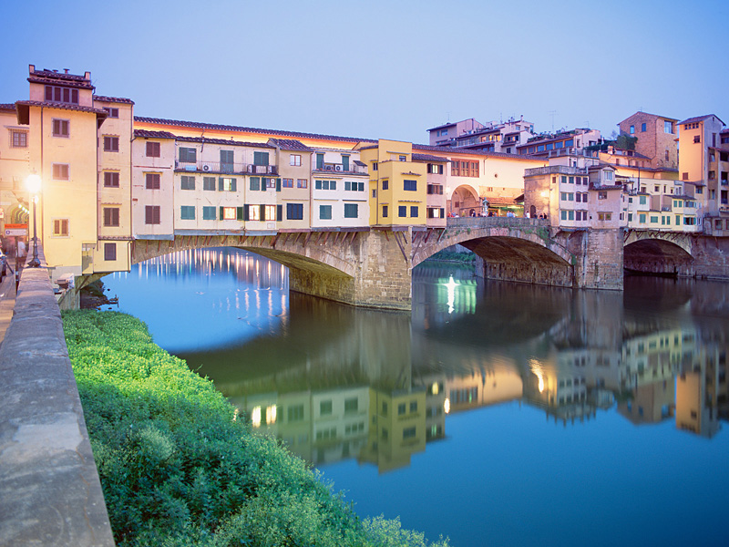 Bridges Ponte Vecchio Florence Italy