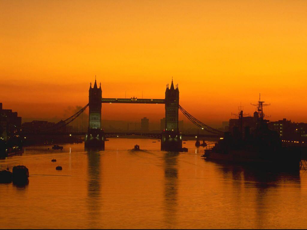 Sunrise London England