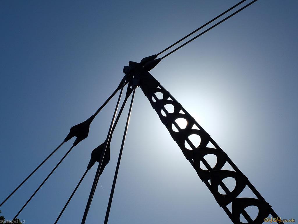 Bridge Suspension In Sunlight