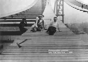 new york bridge builders 1895