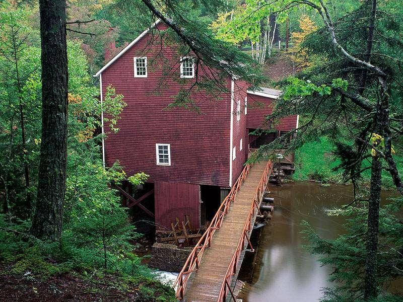 Balmoral Grist Mill Museum Balmoral Mills Nova Scotia