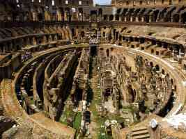 7 wonders medieval world colosseum