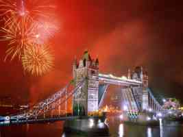 light up the night tower bridge london england
