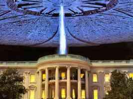 white house alien attack