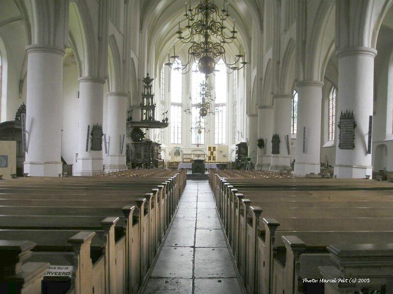 Bolsward Martinikerk Interior