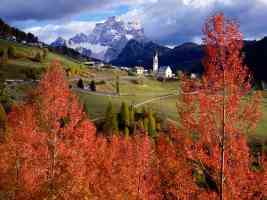Church of Selva Di Cadore Colle Santa Lucia Italy