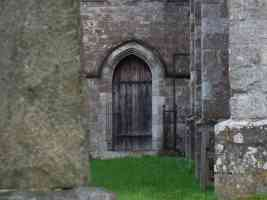 rear church door