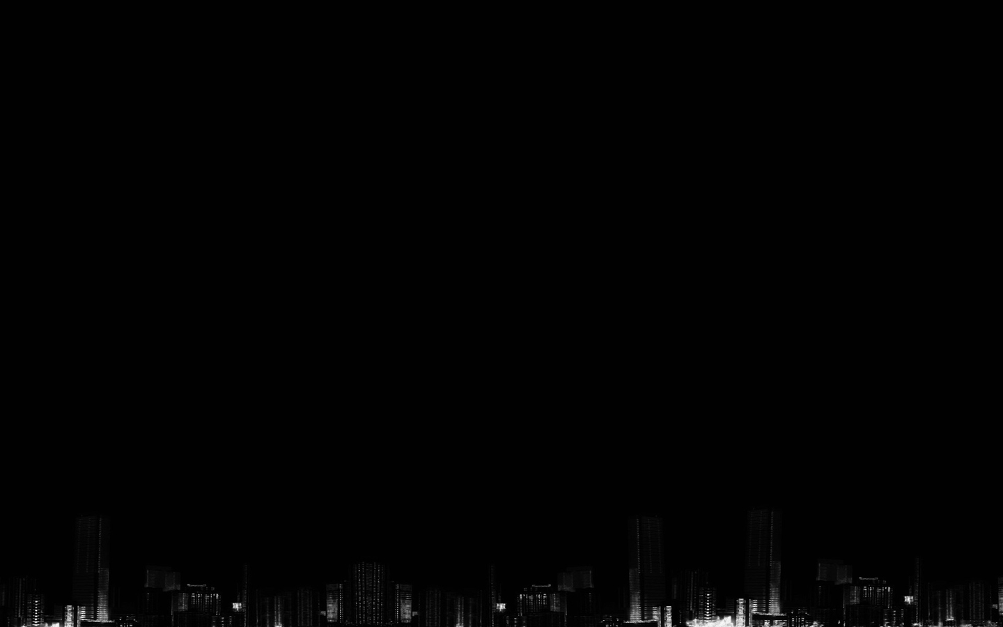 Black City Wallpaper - Unique Wallpaper