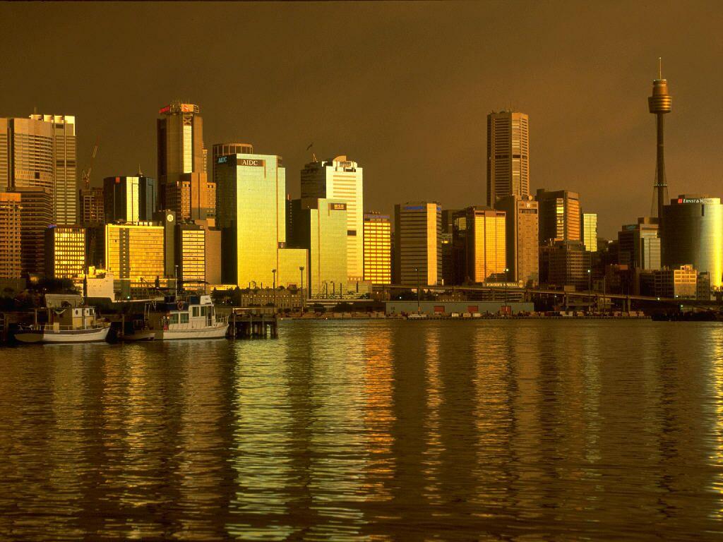 Dusk Sydney Skyline
