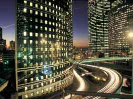 la defense business district paris france