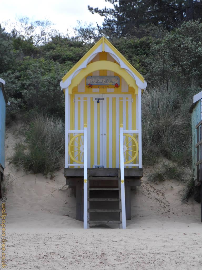 Yellow Beach Hut