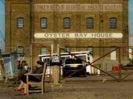 oyster bay house and old lady