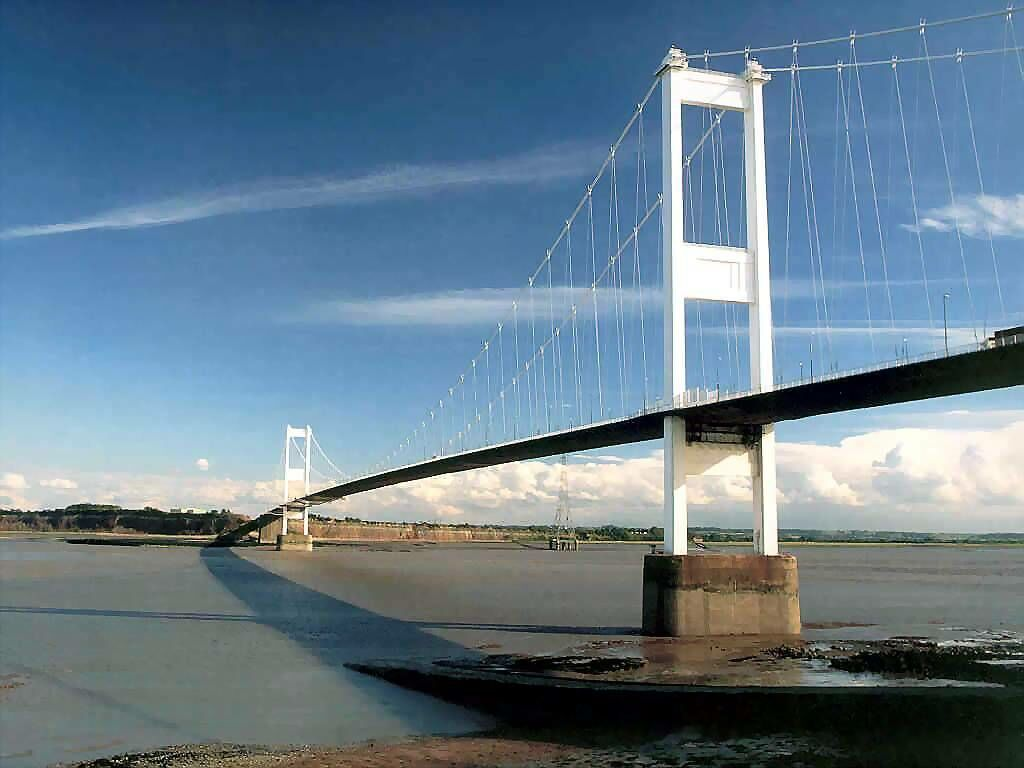 Severn Bridge Bristol England