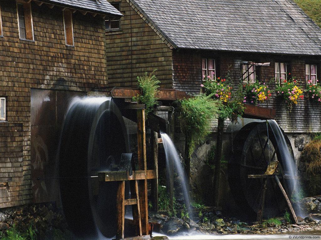 Mill Waterwheels