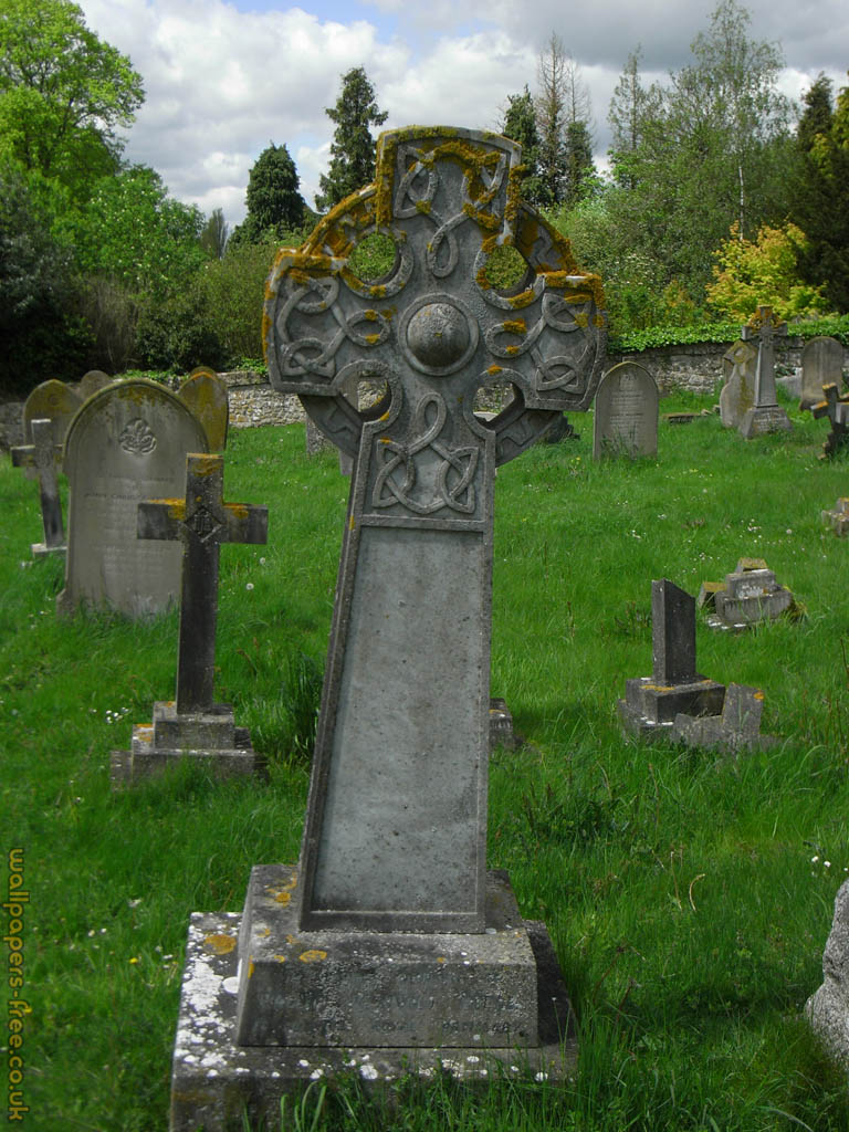 Celtic Cross Grave