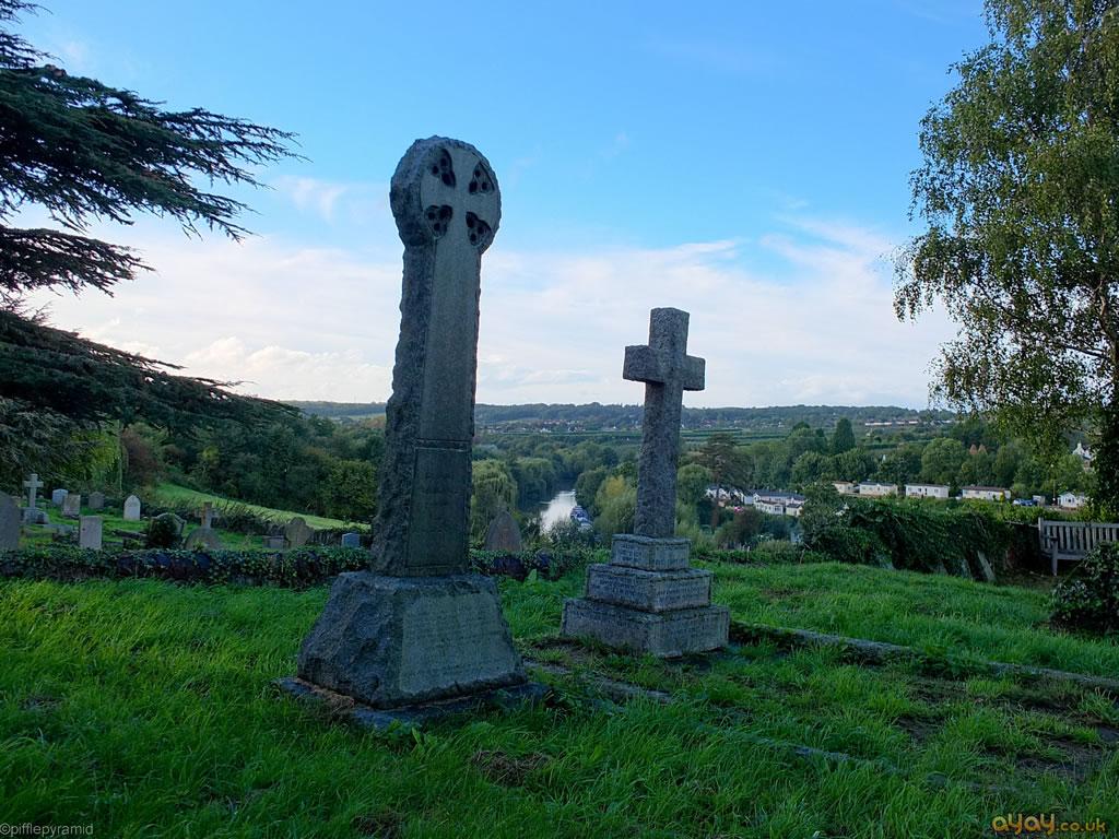 Churchyard View From Farleigh Hill