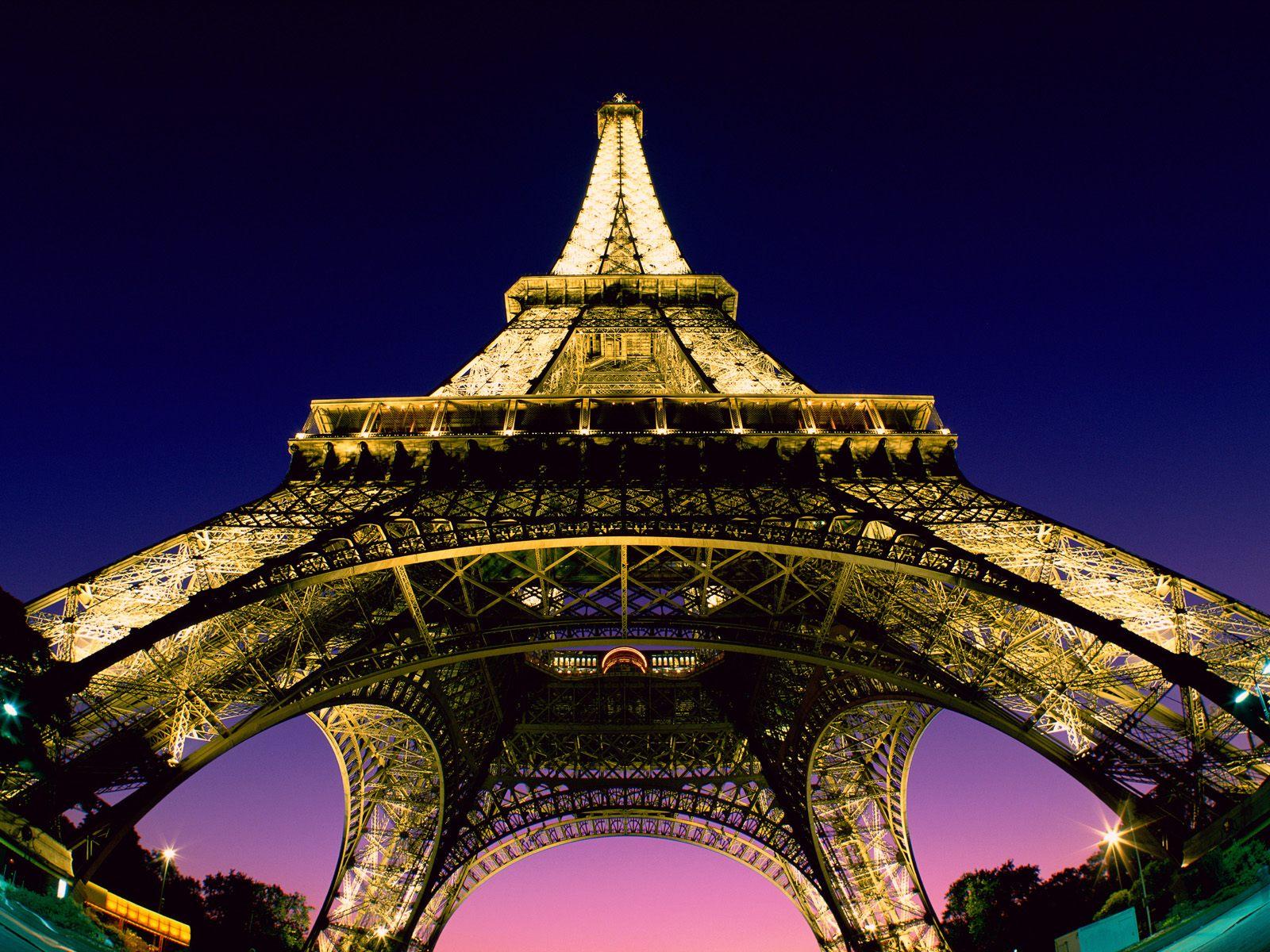 Beneath The Eiffel Tower Paris France