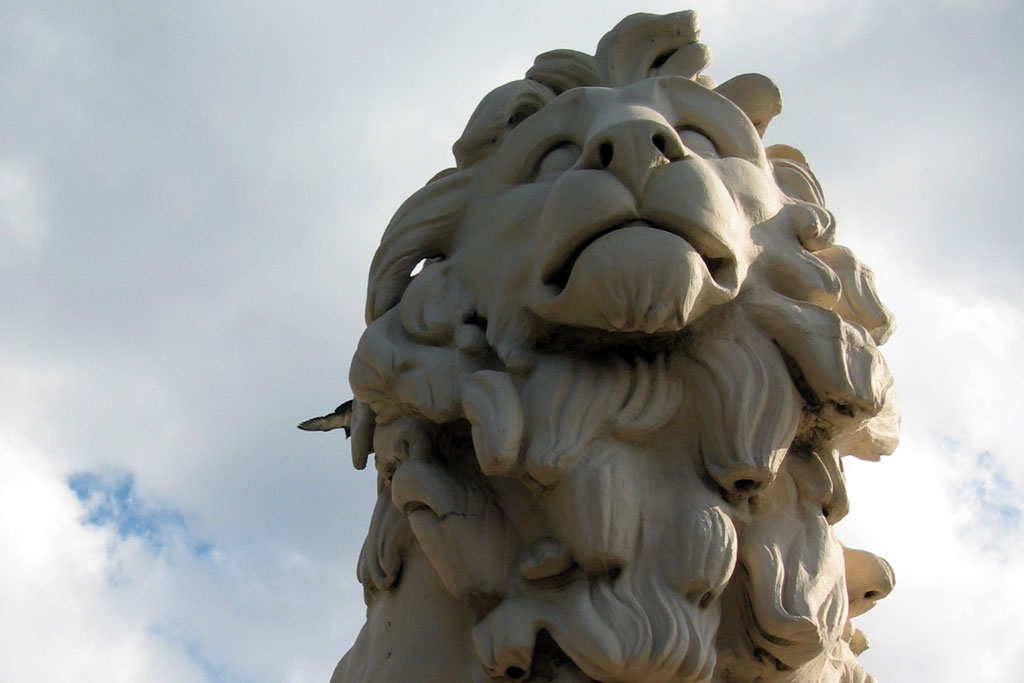 London Westminster Lion
